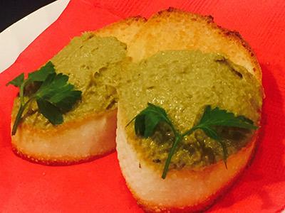 牡蠣のパテ