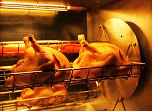 ひな鶏もも肉のロティ